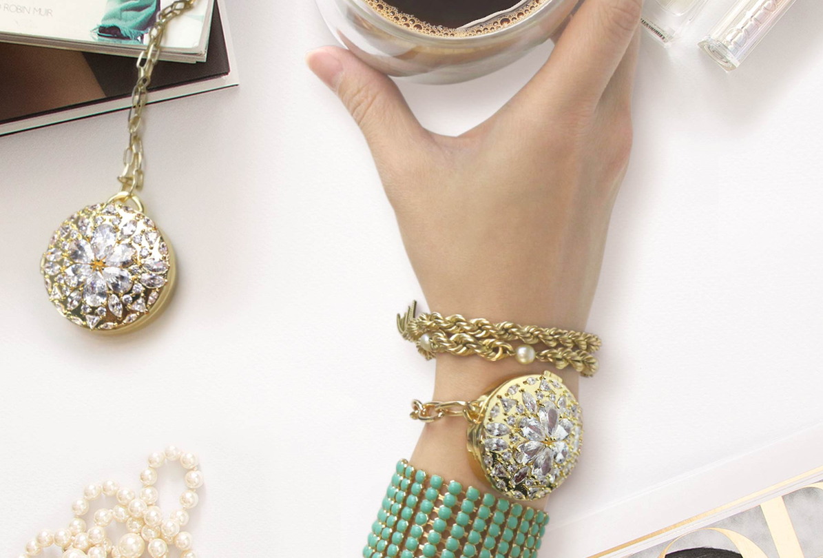 BaubleBar x Misfit Helena Bracelet and Helena Necklace